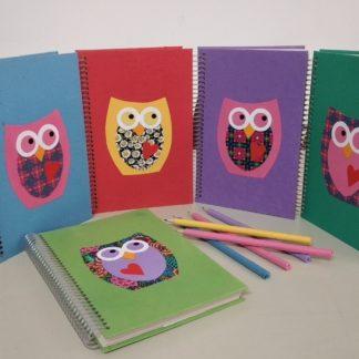 Anotação G Coruja é muito útil. Embora todo caderno seja útil, como o nosso você jamais viu! Certamente que esse é o mais bonito.